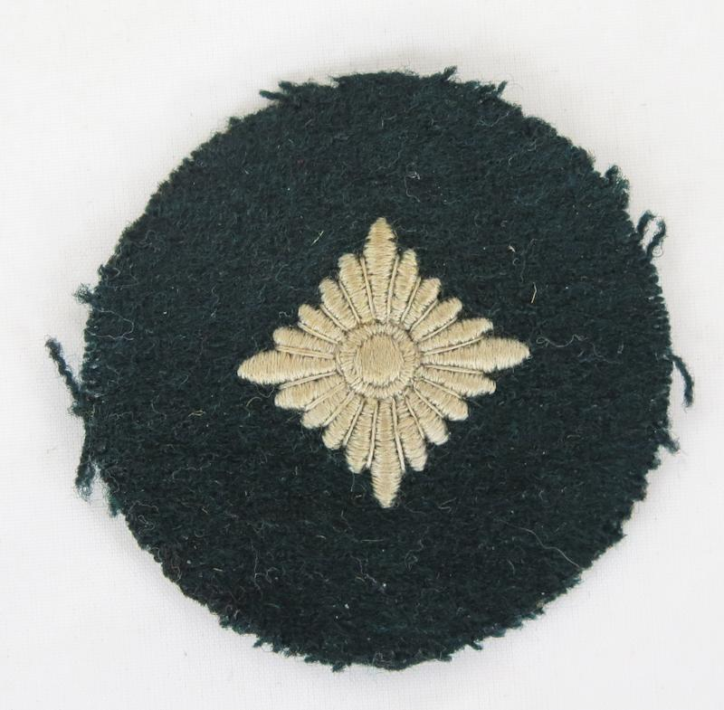 WW2 German Wehrmacht army oberschutze arm patch